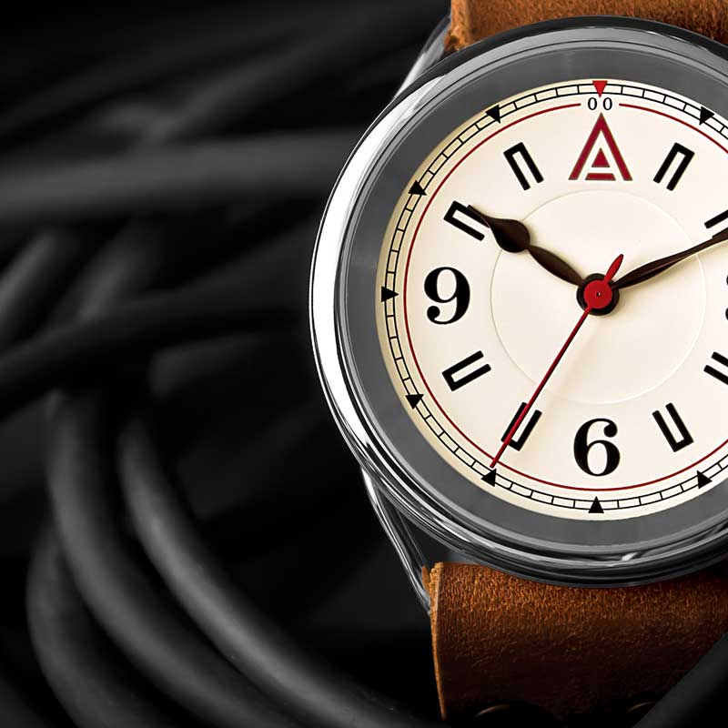 CLASSIC WATCHES BY WT AUTHOR CREAM