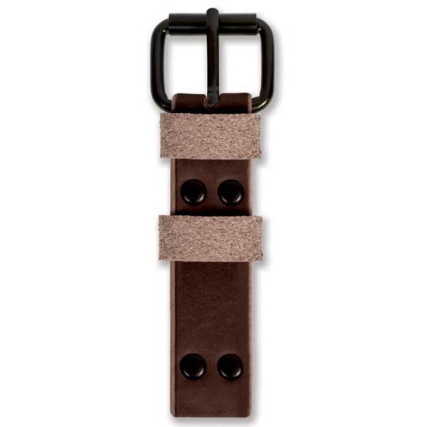 Bespoke leather watch straps top brown by WT Author