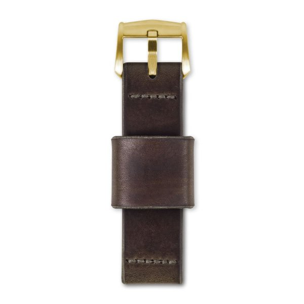 brown watch strap top