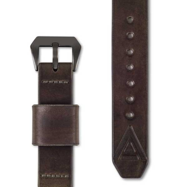 brown watch straps by WT Author front