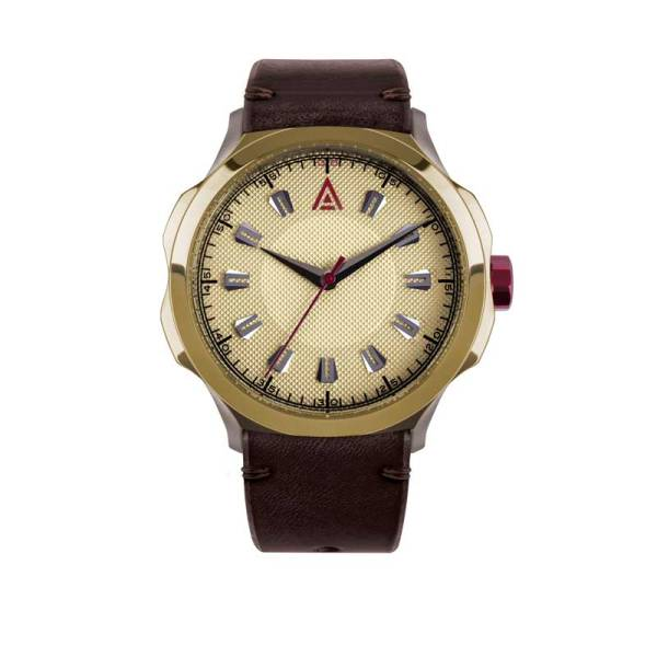 DRESS WATCHES FOR MEN STRAP CREAM Nº 1953 FRONT