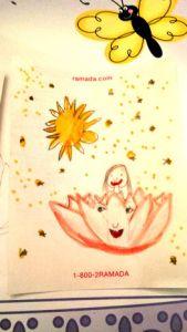 圖為蓮花愛麗森畫出看到的夢境p1145-16-05