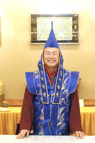 圖為蓮生法王盧勝彥p1147-05-01