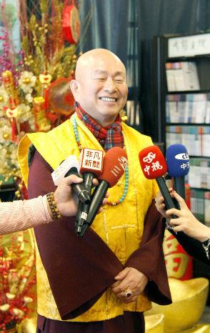 圖為蓮生法王接受媒體專訪p1147-06-02