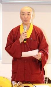 圖為財政處長蓮印上師p1151-08-03