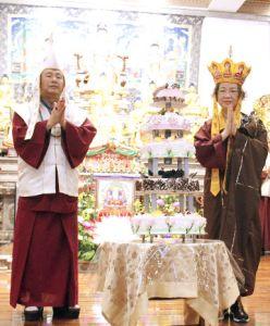 圖為生師佛與蓮香師母p1152-03-03A