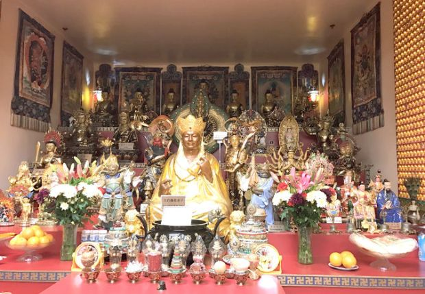 圖為溫哥華菩提雷藏寺p1153-14-02