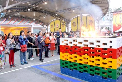 圖為善信觀想護摩火過火清淨 p1158-05-04