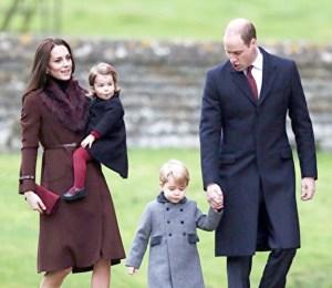 英國威廉王子與凱特王妃全家福 p1159-a1-05b