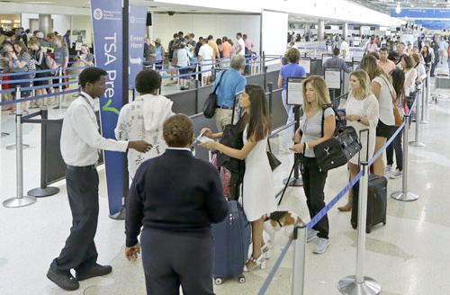 機場常規安檢人流 p1165-a1-11C