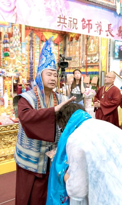 蓮生法王加持主祈人