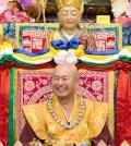 2017年9月23日週六晚間,美國西雅圖雷藏寺恭請蓮生法王盧勝彥主持幽冥教主地藏王菩薩同修會,四眾弟子護持。圖為無上法王蓮生活佛盧勝彥。