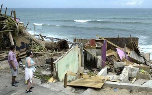 颶風重創波多黎各,災後滿目瘡痍。p1180-a1-04