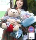 韓國演員韓孝周出席了在首爾鐘路區清溪廣場舉行的「2017綠雨傘天使之日」兒童公益活動。