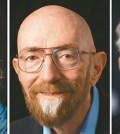 今年諾貝爾物理獎由美國三名天文物理學家共同獲得,由左至右為貝里許、索恩及魏斯。