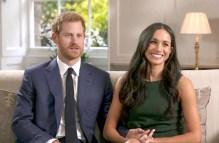 英國哈利王子與美國女星梅根‧馬克爾 接受記者專訪,倆人甜蜜十指緊扣