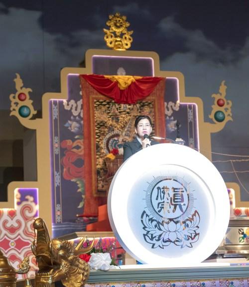 貴賓副首相代表王賽之2017年12月16日馬來西亞大幻化網金剛大法會致詞