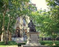 美國賓州大學法學院校園一景