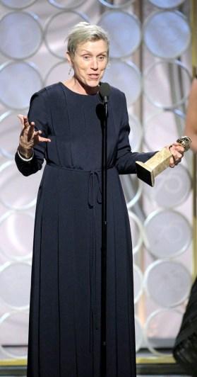 戲劇類最佳女主角 法蘭西絲麥朵曼/《意外》