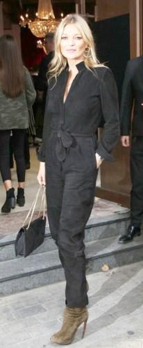 Gigi Hadid和Kate Moss
