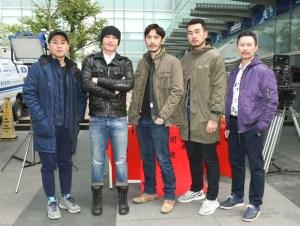 左起黃迪揚、趙駿亞、李至正、徐灝翔、博焱
