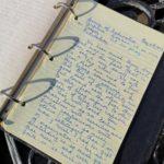 Written notebook