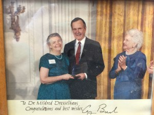 WTeaO Advisory Board President Millie awarded National Science Medal