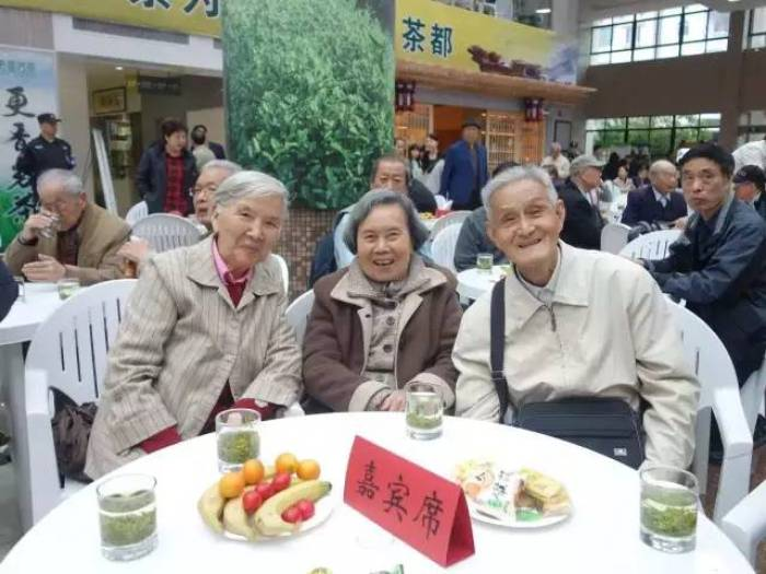 respect the elderly at world tea day