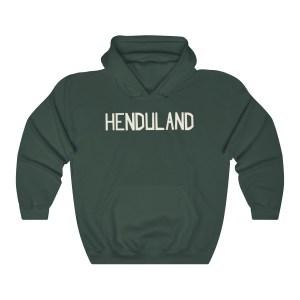 "Dave ""HENDULAND"" Hooded Sweatshirt"