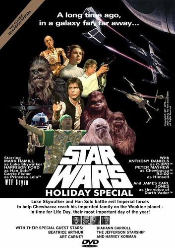 WTF Star wars holiday Special