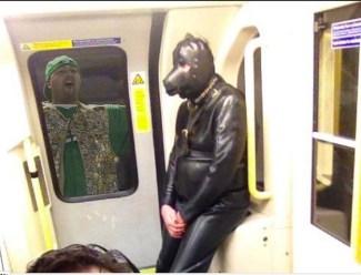 WTF on a train
