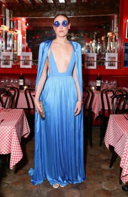 Purple Dinner and Party with Vionnet, Chez Castel, Paris, France - 05 Mar 2015