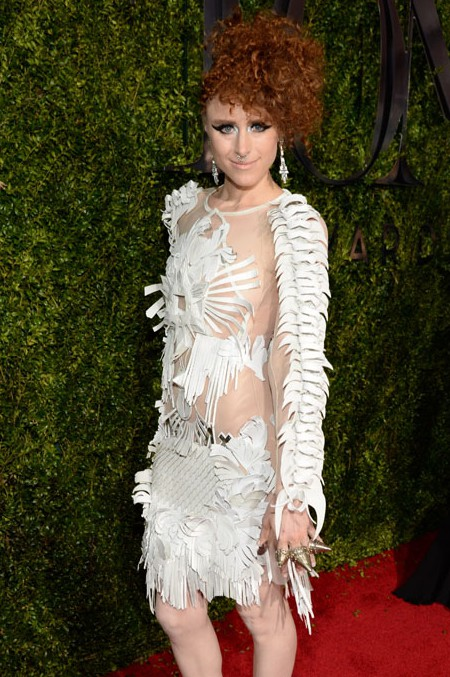 NEW YORK, NY - JUNE 07:  Kiesza attends the 2015 Tony Awards at Radio City Music Hall on June 7, 2015 in New York City.  (Photo by Kevin Mazur/Getty Images for Tony Awards Productions)