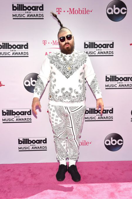 LAS VEGAS, NV - MAY 22: Internet personality Josh Ostrovsky aka 'The Fat Jew' attends the 2016 Billboard Music Awards at T-Mobile Arena on May 22, 2016 in Las Vegas, Nevada. (Photo by David Becker/Getty Images)