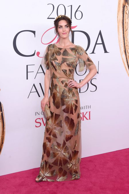 NEW YORK, NY - JUNE 06: Hilary Rhoda attends the 2016 CFDA Fashion Awards at the Hammerstein Ballroom on June 6, 2016 in New York City. (Photo by Jamie McCarthy/Getty Images)