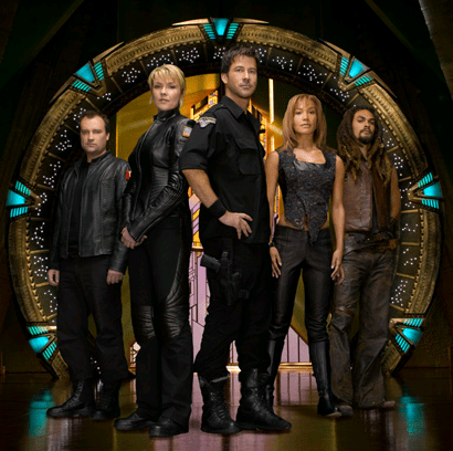 Stargate Atlantis Season Four Cast