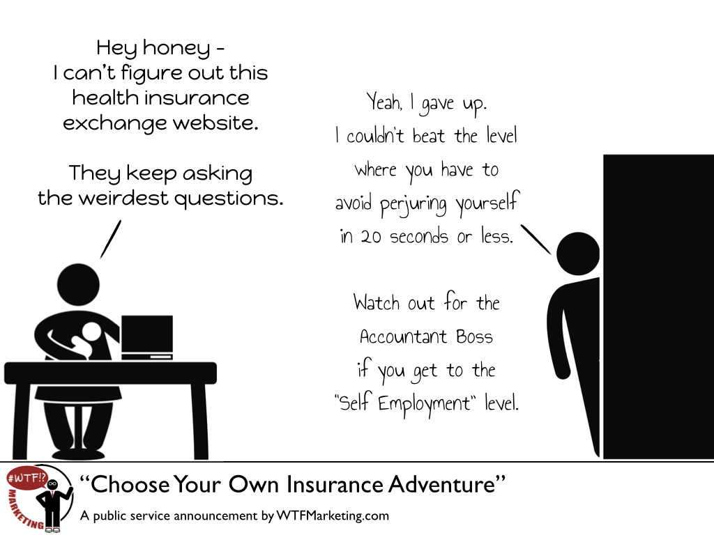Choose Your Own Insurance Adventure