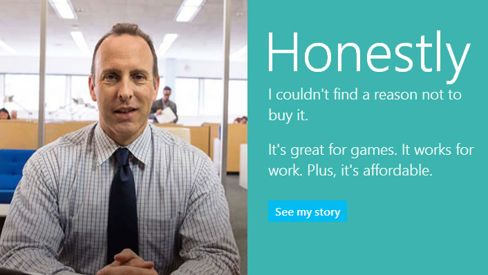 Microsoft Honestly Campaign