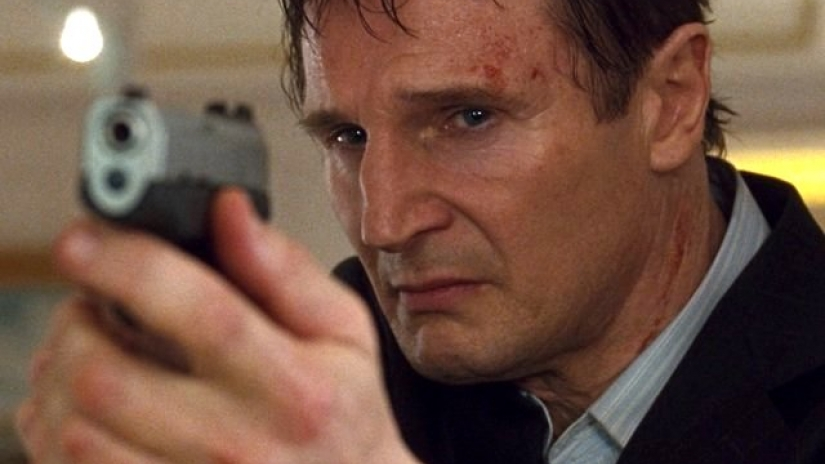 Liam Neeson The Commuter película