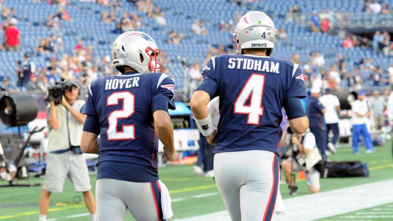 patriots quarterback