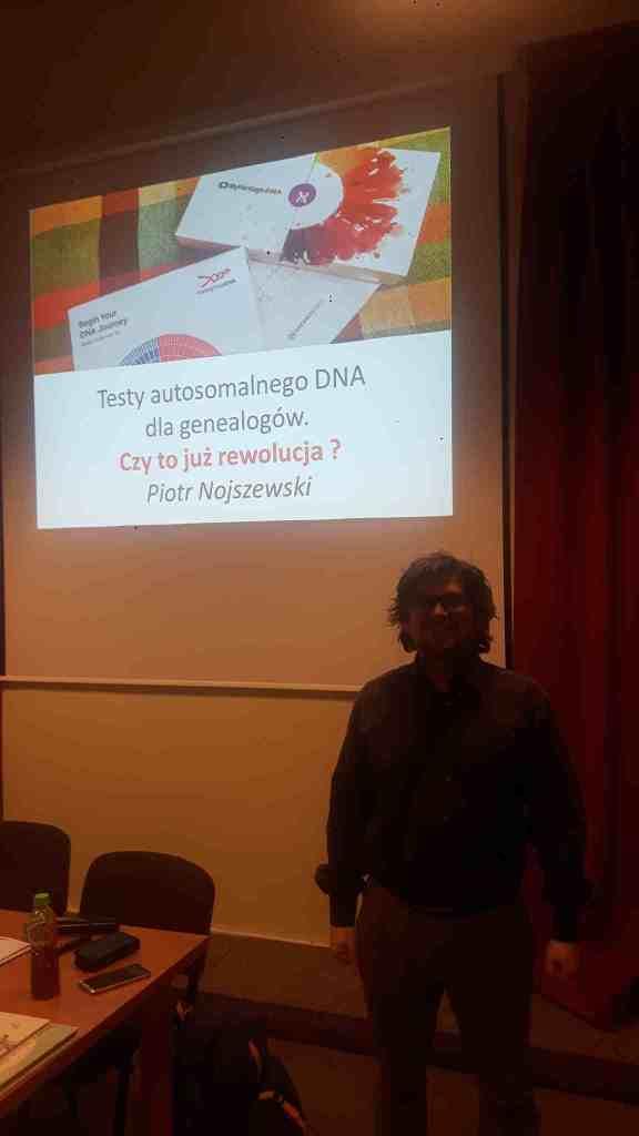 Badania autosomalnego DNA dla genealogów prelegent