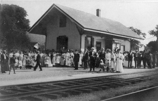 The Jersey Central Railroad first traveled through German Valley on July 1, 1876 and continued servicing the area for one hundred years. Many townsfolk traveled to Lake Hopatcong on summer weekends.