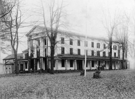 Heath House, a compound of buildings, was the first resort erected on Schooley's Mountain by Joseph Heath. Local lore say George Washington stayed in one of the rooms in the Alpha Hotel, the first hotel.