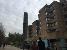 Walking Towards the London Eye from Tate modern