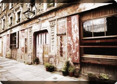 Wilton's Music Hall, Graces Alley, opened c.1850. Photo: James Perry. Source: Wilton's Music Hall archives.