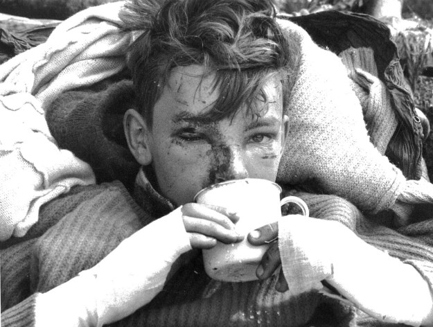 Bryan Carey after rescue