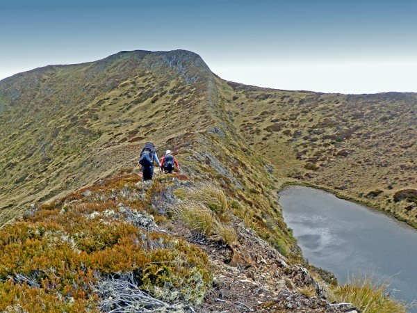 On the ridge to Hurricane Hut
