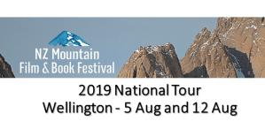 2019 NZ Mountain Film Festival National Tour Wellington