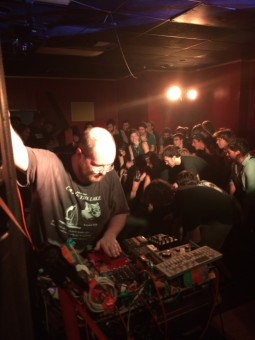 Baltimore musician Dan Deacon performed about 45 minutes of new material at the Crown in Station North