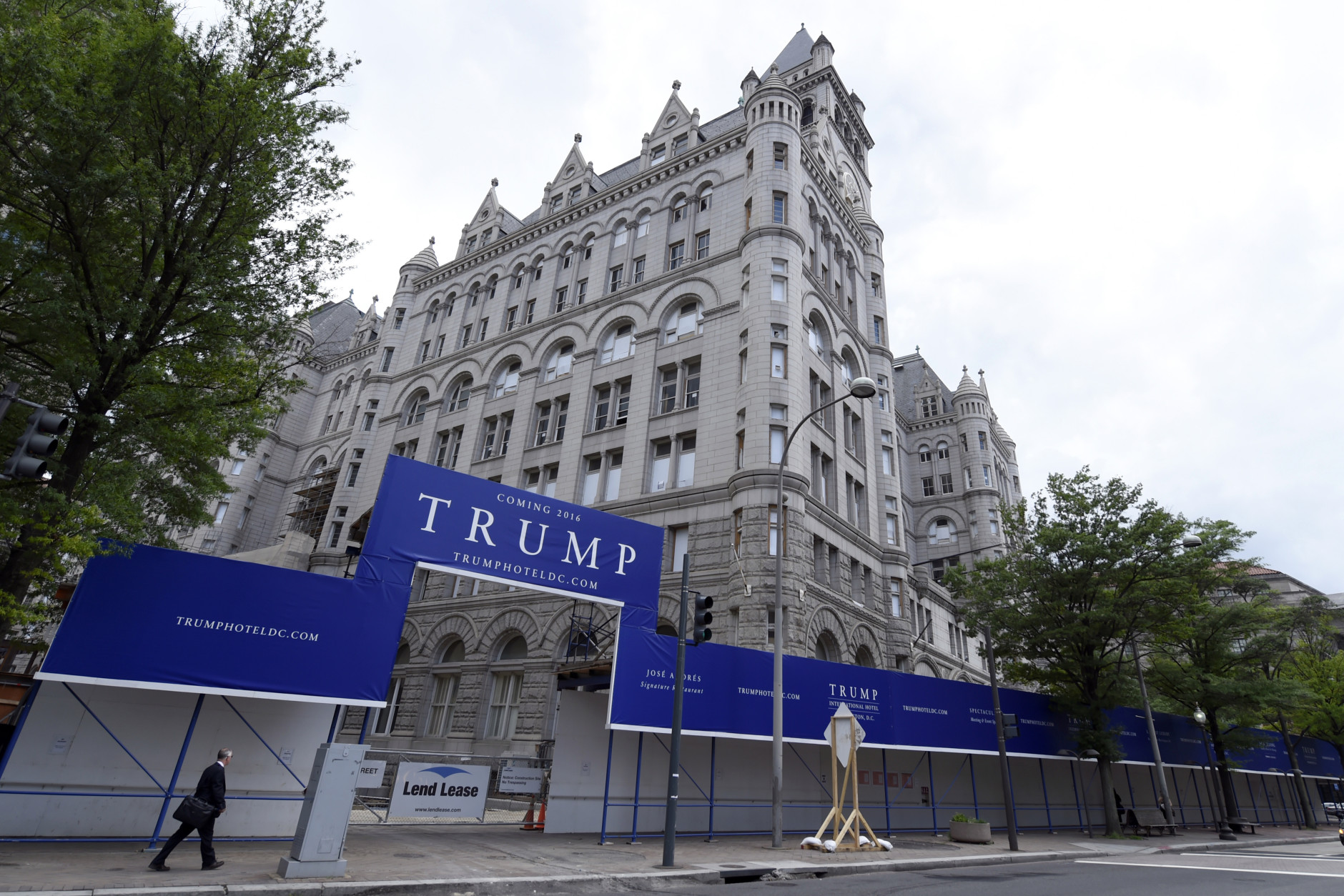 Image result for PHOTOS OF TRUMP HOTEL IN WASHINGTON DC